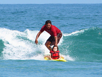 Free Surf Camp for Children with Autism